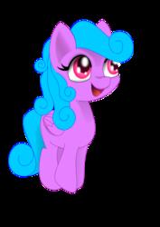 Size: 744x1052 | Tagged: safe, artist:auroraswirls, oc, oc:aurora swirls, alicorn, pony, alicorn oc, female, filly, looking up, open mouth, simple background, smiling, transparent background