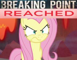 Size: 640x499 | Tagged: safe, edit, edited screencap, screencap, fluttershy, pony, sweet and smoky, spoiler:s09e09, angry, cropped, peeved, solo