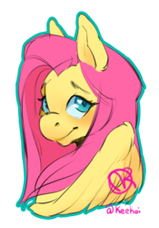 Size: 1386x1977 | Tagged: artist:keekoi, bust, colored pupils, cute, female, fluttershy, heart eyes, mare, palindrome get, pegasus, pony, portrait, safe, shyabetes, simple background, solo, transparent background, wingding eyes