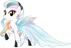Size: 1931x1309 | Tagged: artist:nstone53, clothes, dress, ear piercing, earring, earth pony, female, gala dress, jewelry, oc, oc:prism palette, piercing, safe, simple background, sparkles, transparent background