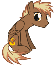 Size: 1650x1950 | Tagged: 2020 community collab, artist:the smiling pony, derpibooru community collaboration, oc, oc:firebrand, oc only, pegasus, pony, safe, simple background, solo, svg, .svg available, transparent background, vector