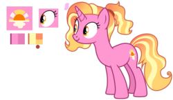 Size: 1024x592 | Tagged: artist:biitt, artist:sailorrainbowyt, base used, biography, female, luster dawn, mare, pony, safe, simple background, smiling, solo, spoiler:s09e26, the last problem, transparent background, unicorn