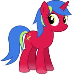 Size: 4000x4124 | Tagged: absurd resolution, artist:parclytaxel, female, looking at you, mare, oc, oc:diaphaneity, oc only, pony, safe, simple background, smiling, solo, .svg available, transparent background, transparent flesh, unicorn, vector