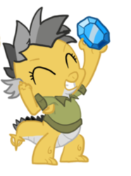 Size: 191x257 | Tagged: safe, artist:itsaaudraw, daring do, dragon, clothes, cropped, dragonified, eyes closed, female, gem, shirt, solo, species swap