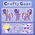 Size: 4000x4000 | Tagged: safe, artist:partylikeanartist, oc, oc only, oc:crafty gaze, bat, bat pony, pony, bat pony oc, c:, cute, cutie mark, ear tufts, female, gear, grin, looking at you, mare, ocbetes, open mouth, raised hoof, reference, reference sheet, smiling, solo, spread wings, spyglass, text, waving, wings