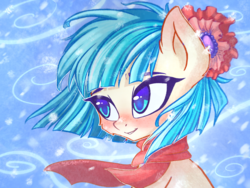 Size: 2224x1668 | Tagged: artist:chaosangeldesu, blushing, cocobetes, coco pommel, cute, earth pony, female, mare, pony, safe, smiling, solo