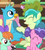 Size: 321x360 | Tagged: safe, screencap, berry blend, berry bliss, fluttershy, gallus, peppermint goldylinks, sandbar, bird, earth pony, griffon, pony, skunk, teacher of the month (episode), spoiler:interseason shorts, animal, blissabetes, cropped, cute, female, friendship student, gallabetes, male, peppermint adoralinks, sandabetes, smiling, wings