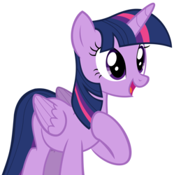 Size: 5100x5123 | Tagged: absurd res, alicorn, artist:thehylie, disguise, disguised changeling, female, open mouth, safe, solo, thorax, to where and back again, twilight sparkle, twilight sparkle (alicorn), vector