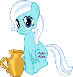 Size: 995x1036 | Tagged: aquarius, artist:chipmagnum, earth pony, female, mare, pony, ponyscopes, safe, simple background, sitting, solo, transparent background, vector, zodiac