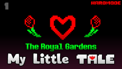 Size: 1280x720 | Tagged: alicorn amulet, alternate timeline, alternate universe, artist:crusader productions, crossover, episode 1, flower, gardens, hardmode, heart, my little tale, retro, rose, royal, safe, thumbnail, undertale, undertale title font