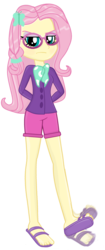 Size: 1185x2817 | Tagged: alternate hairstyle, artist:grapefruitface1, artist:katnekobase, base used, derpibooru exclusive, equestria girls, feet, fluttershy, foot tapping, hipstershy, motion blur, request, safe, sandals, simple background, solo, spectacles, tapping, transparent background