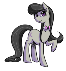 Size: 1280x1367 | Tagged: safe, artist:gintoki23, octavia melody, earth pony, pony, bowtie, cute, female, mare, simple background, solo, tavibetes, transparent background