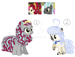 Size: 1280x980 | Tagged: artist:xxturquoise-adoptsxx, base used, crack ship offspring, deviantart watermark, earth pony, obtrusive watermark, oc, oc only, offspring, parent:cherry jubilee, parents:cherrylane, parent:thunderlane, pegasus, pony, safe, simple background, transparent background, watermark