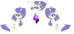 Size: 1178x546 | Tagged: artist:xxcutecookieswirlsxx, chest fluff, dracony, female, hybrid, interspecies offspring, oc, oc:diamond, offspring, parent:rarity, parent:spike, parents:sparity, reference sheet, safe, simple background, solo, transparent background