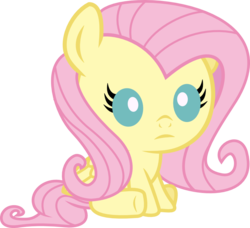 Size: 876x800 | Tagged: safe, artist:seahawk270, fluttershy, pegasus, pony, baby, baby pony, babyshy, cute, female, part of a set, shyabetes, simple background, sitting, solo, transparent background, weapons-grade cute