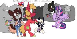 Size: 1382x704 | Tagged: safe, artist:rainbowderpy136, big macintosh, twilight sparkle, alicorn, pony, fandom, female, male, shipping, straight, twilight sparkle (alicorn), twimac