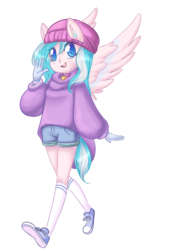 Size: 600x850 | Tagged: anthro, artist:usamin, converse, oc, oc:foxyhollows, safe, shoes