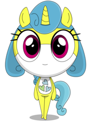 Size: 2220x3031 | Tagged: anthro, artist:keronianniroro, crossover, cutie mark, female, hybrid, keponian, keronian, lemon hearts, safe, sergeant frog, simple background, solo, species swap