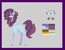 Size: 6236x4818 | Tagged: safe, artist:moonlight0shadow0, oc, oc only, oc:arabia night's, hybrid, kirin, nirik, pony, unicorn, icey-verse, absurd resolution, clothes, dress, ear piercing, earring, female, forehead jewel, glowing eyes, horn ring, interspecies offspring, jewelry, mare, next generation, offspring, parent:autumn blaze, parent:hoo'far, parents:hoo'blaze, piercing, reference sheet, see-through, see-through shirt, solo, unshorn fetlocks