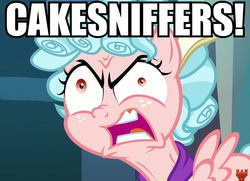 Size: 617x447 | Tagged: angry, a series of unfortunate events, caption, carmelita spats, cozy glow, crazy glow, edit, edited screencap, faic, female, filly, image macro, insanity, insult, meme, pegasus, pony, safe, school raze, screencap, unusual euphemism, yelling
