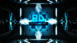 Size: 3265x1837 | Tagged: safe, artist:game-beatx14, rainbow dash, no pony, text, wallpaper
