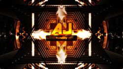 Size: 4096x2304 | Tagged: safe, artist:game-beatx14, applejack, no pony, text, wallpaper