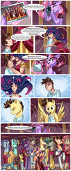 Size: 828x2000 | Tagged: safe, artist:xjenn9fusion, oc, oc:dalorance, oc:king calm merriment, oc:king righteous authority, oc:king speedy hooves, oc:princess mythic majestic, oc:princess sincere scholar, oc:princess young heart, oc:queen fresh care, oc:queen galaxia, oc:queen motherly morning, oc:tommy the human, alicorn, human, pony, comic:administrative unity, comic:fusing the fusions, alicorn oc, aunt and nephew, aunt and niece, camera, canterlot, canterlot castle, clothes, colt, comic, commission, commissioner:bigonionbean, cousins, crown, dialogue, dress, embrace, family, father and daughter, father and son, female, foal, fusion, fusion:king calm merriment, fusion:king righteous authority, fusion:king speedy hooves, fusion:princess mythic majestic, fusion:princess sincere scholar, fusion:princess young heart, fusion:queen fresh care, fusion:queen galaxia, fusion:queen motherly morning, glasses, herd, human oc, human to pony, humanized, husband and wife, jewelry, kissing, magic, male, mother and daughter, mother and son, picture, picture frame, ponified, regalia, royal family, teenager, transformation, uncle and nephew, uncle and niece, uniform, writer:bigonionbean