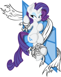 Size: 5000x6275 | Tagged: safe, artist:dfectivedvice, artist:quent0s, rarity, pony, unicorn, absurd resolution, ear fluff, eyelashes, eyeshadow, fabric, female, from above, horn, looking at you, makeup, mare, on back, pose, simple background, smiling, solo, transparent background, vector