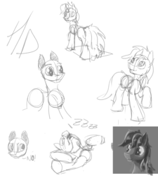 Size: 783x871 | Tagged: safe, artist:hyper dash, pony, sketch