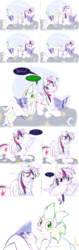 Size: 2442x7711 | Tagged: safe, artist:frist44, rarity, spike, twilight sparkle, alicorn, dragon, pony, ..., blushing, comic, dialogue, female, golden oaks library, jealous, male, mare, romantic, sad, self-conscious, shipping, straight, twilight sparkle (alicorn), twispike
