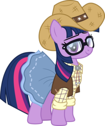 Size: 1255x1500 | Tagged: artist:cloudyglow, cowboy hat, cowgirl, cowgirl outfit, dance magic, equestria girls, equestria girls ponified, equestria girls series, female, five to nine, hat, ponified, pony, safe, sci-twi, solo, spoiler:eqg specials, stetson, twilight sparkle, unicorn, unicorn sci-twi