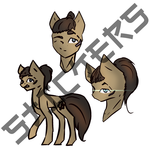 Size: 2893x2893 | Tagged: safe, artist:al1-ce, derpibooru exclusive, oc, oc only, oc:sinraal, pony, simple background, sticker set, text, white background