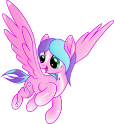 Size: 4432x4797 | Tagged: absurd res, artist:kopcap94, female, mare, oc, oc:candy light, pegasus, pony, safe, simple background, smiling, solo, transparent background