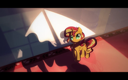 Size: 1280x800 | Tagged: safe, artist:minty root, sunset shimmer, pony, the fall of sunset shimmer: animated film, youtube