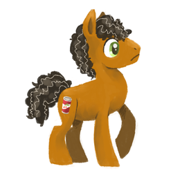Size: 800x800 | Tagged: artist:needsmoarg4, cherry cola, cherry fizzy, earth pony, safe, solo