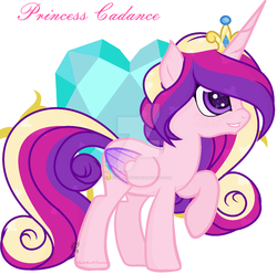 Size: 1024x1014 | Tagged: artist:angelamusic13, base used, deviantart watermark, obtrusive watermark, pony, princess cadance, safe, solo, watermark, younger
