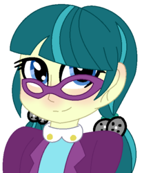 Size: 490x595 | Tagged: safe, artist:leanne264, juniper montage, equestria girls, spoiler:eqg specials, blushing, bust, cute, female, junibetes, pigtails, simple background, solo, transparent background