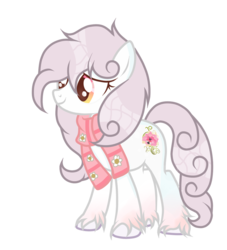 Size: 1024x1126 | Tagged: artist:dl-ai2k, clothes, earth pony, female, mare, oc, pony, safe, scarf, simple background, solo, transparent background