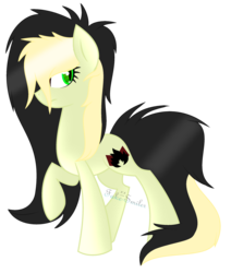 Size: 2192x2584 | Tagged: artist:space--paws0w0, earth pony, female, mare, oc, oc:da capo, oc only, pony, raised hoof, safe, simple background, solo, transparent background