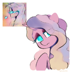 Size: 900x900 | Tagged: artist:dawnfire, oc, oc only, pony, safe, solo, unicorn
