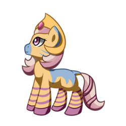 Size: 1500x1500 | Tagged: artist:daromius, crown, female, jewelry, oc, oc:cygnus, regalia, safe, simple background, solo, transparent background, zebra