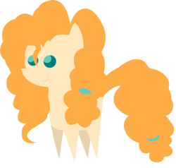 Size: 3006x2865 | Tagged: safe, artist:quanxaro, pear butter, earth pony, pony, female, mare, pointy ponies, simple background, smiling, solo, transparent background, vector