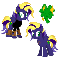 Size: 3000x3000 | Tagged: safe, artist:ponkus, oc, oc only, oc:void flight, pegasus, pony, fallout equestria, armor, base used, birth defect, burn, clothes, dashite, female, knee pads, mare, scar, shirt, solo