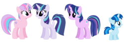 Size: 1250x430 | Tagged: artist:eeveepikachuchan, base used, female, filly, incest, mare, next generation, offspring, parent:shining armor, parents:shining sparkle, parents:twiarmor, parent:twilight sparkle, product of incest, safe, unicorn