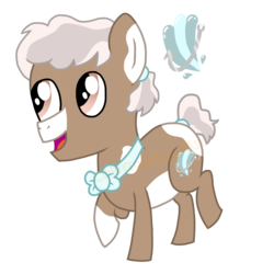 Size: 1536x1536 | Tagged: artist:colorcodetheartist, bowtie, colt, cute, hair tie, male, oc, oc:shining seas, parent:cozy glow, parent:pipsqueak, reference sheet, safe, smiling, spots, vector, watermark