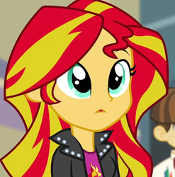 Size: 710x720   Tagged: safe, sunset shimmer, equestria girls, rainbow rocks
