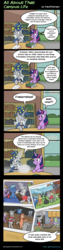 Size: 993x3950   Tagged: safe, artist:pacificgreen, star swirl the bearded, twilight sparkle, alicorn, pony, unicorn, beard, cider, college, comic, facial hair, female, fraternity, magic, male, mare, picture, stallion, table, twilight sparkle (alicorn)
