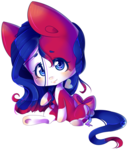 Size: 1073x1259 | Tagged: safe, artist:puffleduck, oc, oc:the great escape, pony, :), blushing, chibi, cute, smiling, solo