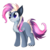 Size: 420x420 | Tagged: artist needed, safe, oc, hybrid, wolf pony, name needed