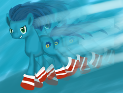 Size: 1024x768 | Tagged: artist:oliviine, ponified, pony, safe, sonic the hedgehog, sonic the hedgehog (series)